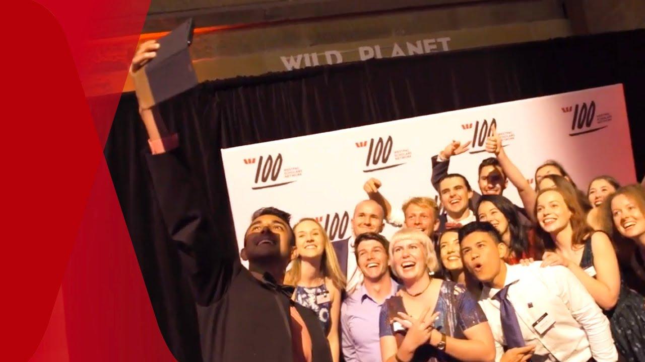 Selfie of nominees for Westpac's Scholars Summit program