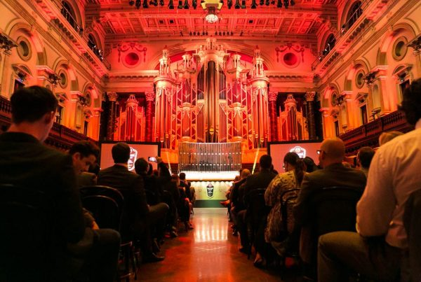 Bacardi Legacy Competition Grand Final held in Sydney Town Hall